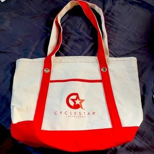 New without tag Cyclebar Cyclestar Canvas Tote Bag